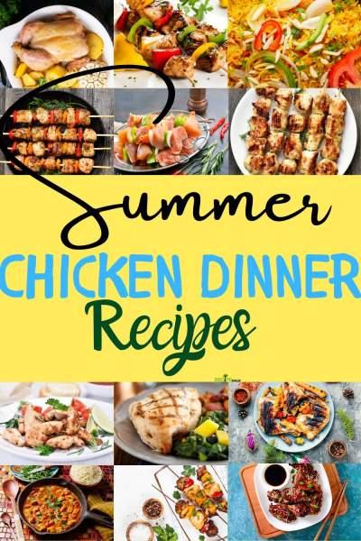 Easy Summer Chicken Dinner Recipes Recipe Magik