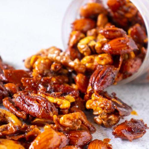 Spiced Nuts Recipe No Sugar Recipe Magik